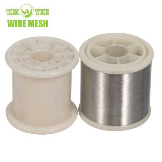 SS316L Stainless Steel Matel Wire for Warp Knitting Fabric Yarn