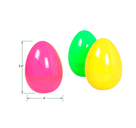 5.9 Inches Colorful Easter Eggs – Pack of 12PCS, Toys for Kids pictures & photos