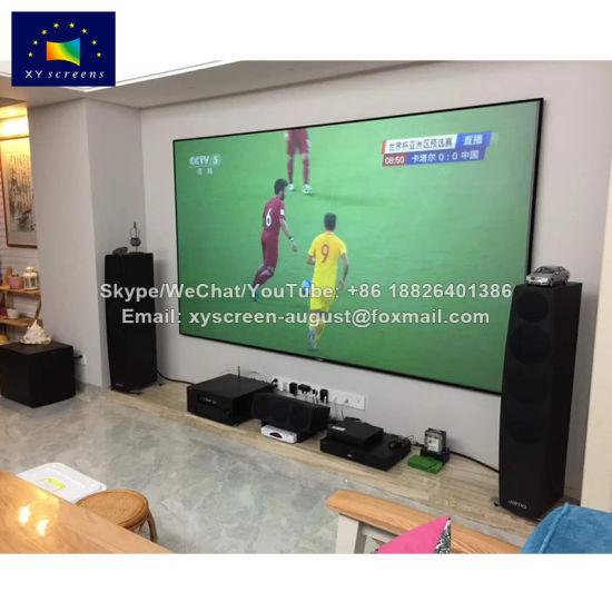 Xyscreen 120 16 9 Narrow Frame Diy Projector Screen For Cinema Projector