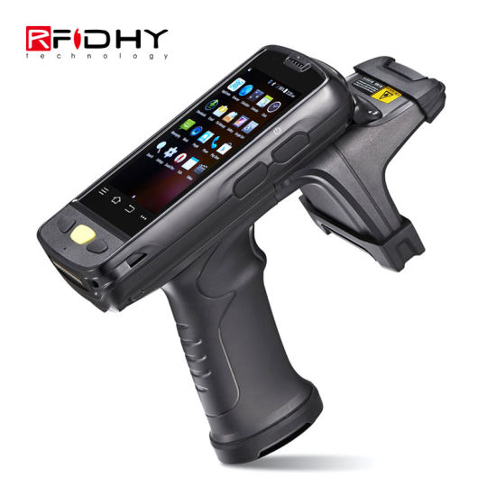 Hy-R4000 Sdk Support Long Range RFID Handheld Reader Writer Android Rugged UHF RFID Reader pictures & photos