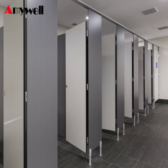 China Amywell HPL Shower Toilet Cubicle Bathroom Divisions Toilet Impressive Bathroom Partition