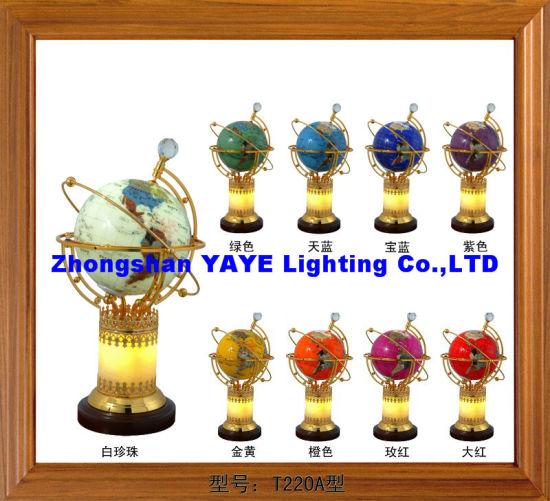 yaye 18 best sell 220mm330mm lighting gemstone globe world globegemstone globe giftscrafts