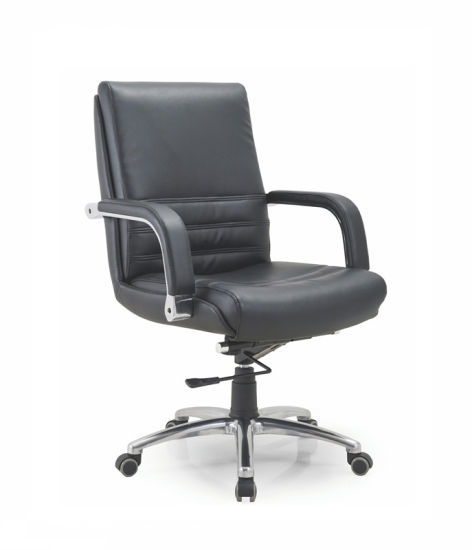 Outstanding China Modern Pu Leather Mid Back Executive Swivel Chair For Machost Co Dining Chair Design Ideas Machostcouk