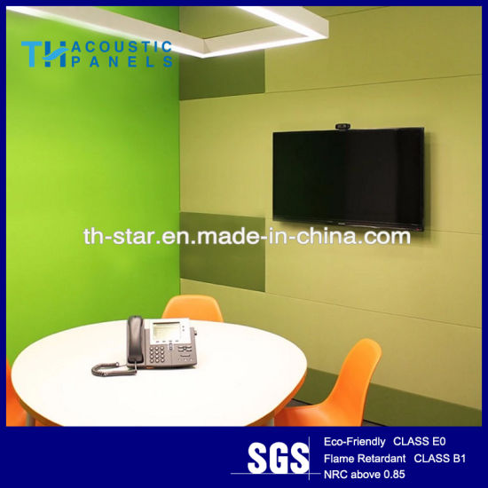 China Wall Decoration High Quality Acoustic Polyester Fiber Panel ...
