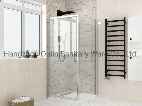 Hinge Pivot Shower Enclosure Door with Side Panel Optional