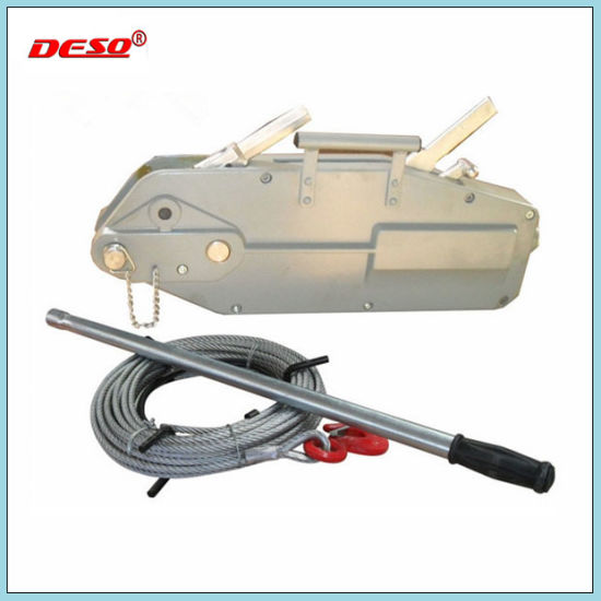 China Portable Ratchet Manual Wire Rope Tirfor Puller - China Wire ...