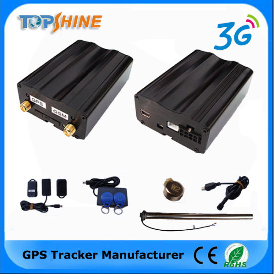 china gsm gps car vehicle tracker with mileage report geo fencing