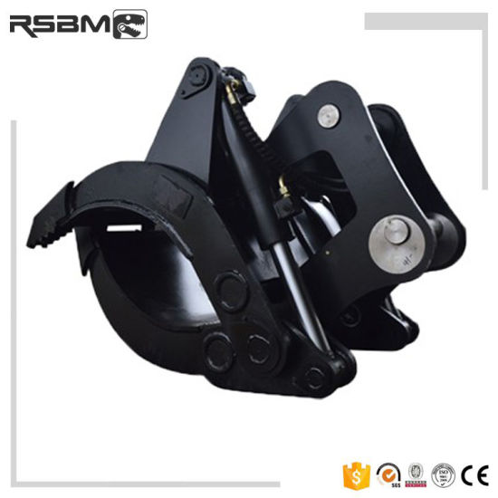 Rsbm 5 Tines Excavator Hydraulic Log Grapple for Sale
