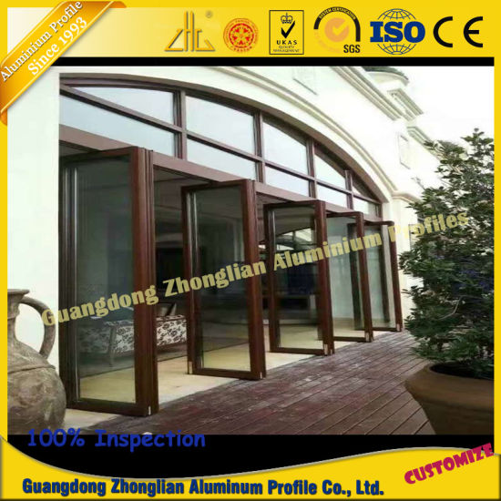 Factory Supply Aluminium Sliding Door Profile pictures & photos