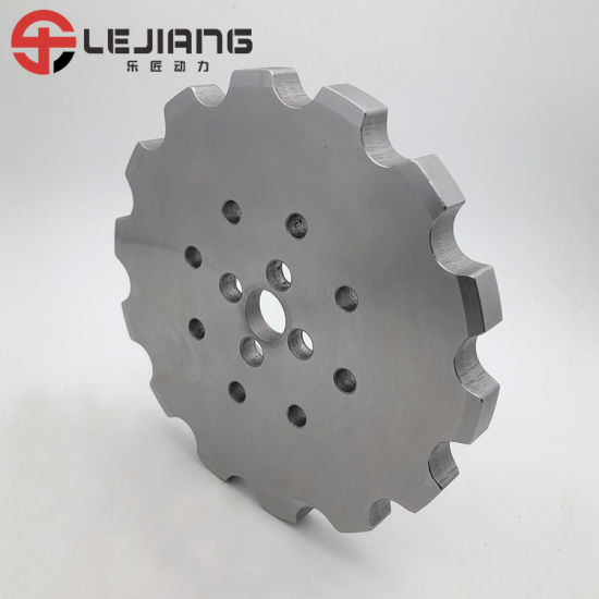 ISO High Quality 1045 C2082-14t Nonstandard Double Pitch Conveyor Sprocket for Roller Chain pictures & photos