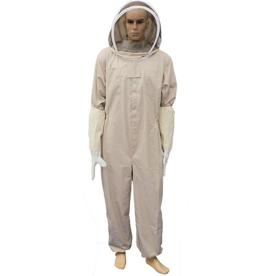 Bee Keeping Suit Jacket with Gloves Bee Hive Clothing with Veil Bee Keeper Protective Clothes pictures & photos