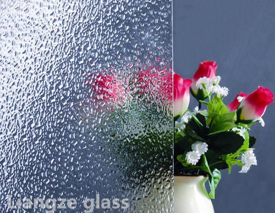 5mm 6mm Patterned Glass for Bathroom Diamond Hibiscus Weaver