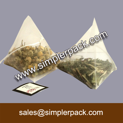 Wholesale Automatic Pouch Pyramid Tea Bag Filling Packaging Machine with Elevator