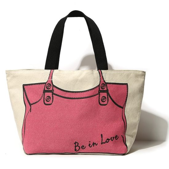 0dc7a2479216 China Eco-Friendly Cotton Canvas Hobo Tote Bags, Woven Cotton Casual ...