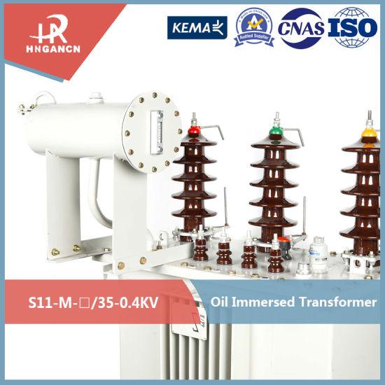 30kVA~4000kVA Large Capacity High Volatge New Design Power Distribution Transformer