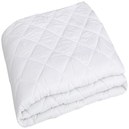 Washable Bamboo Jacquard Mattress Protector Soft Smooth Bed Pad Cover