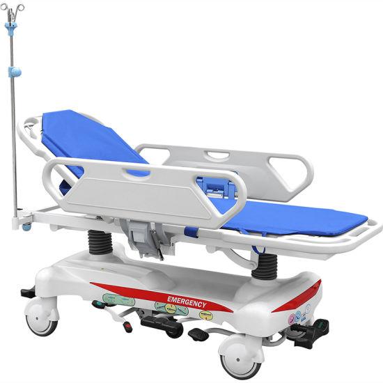 Skb041-2 Emergency Hospital Patient Transfer Trolley