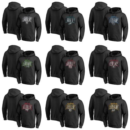 Wholesale 2019 PRO Line Arch Smoke Black Putian Pullovers Hoodies