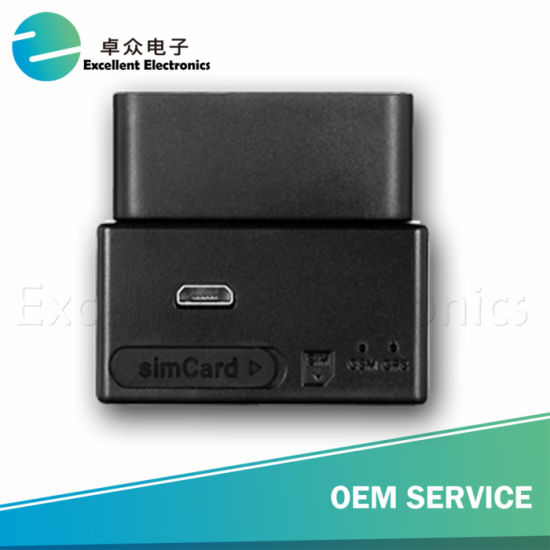 Real Time OBD II Remote Controlling Vehicle Mini Smart OBD GPS Tracker for Car pictures & photos