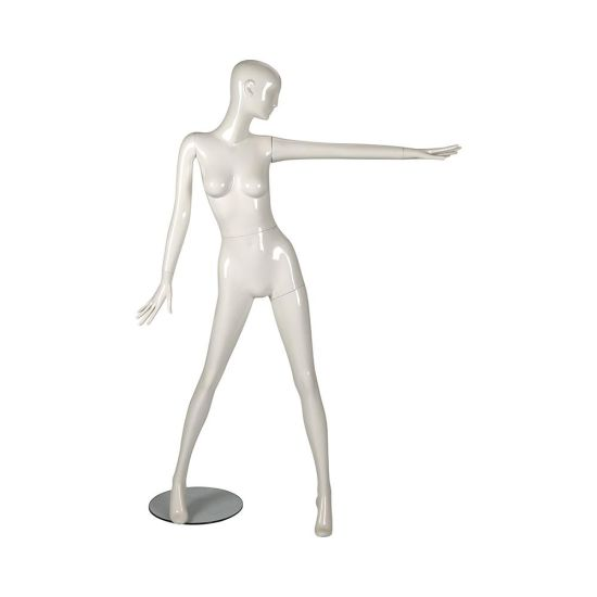 Store Display Hot Selling Plastic Dummy Dress Mannequin pictures & photos