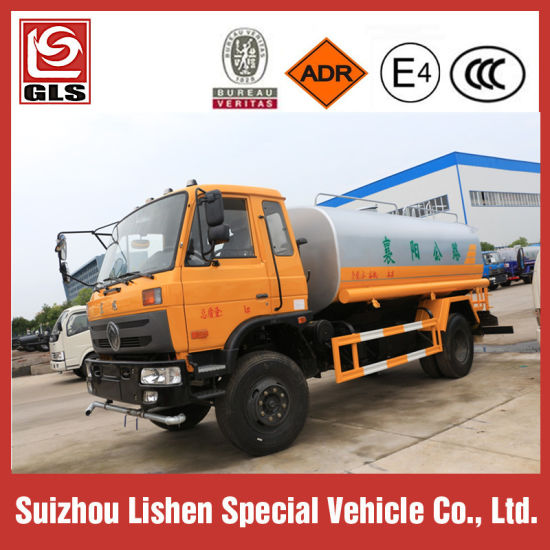 Dongfeng 10 Cbm Water Bowser 10 Ton Water Srinkler 4X4 4X2 Water Truck pictures & photos