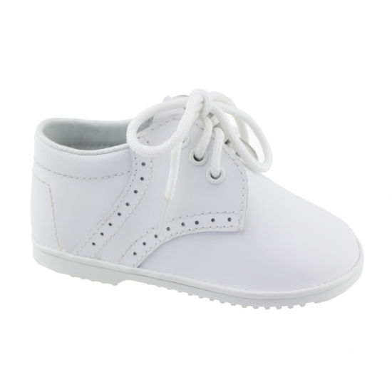 infant boys white shoes