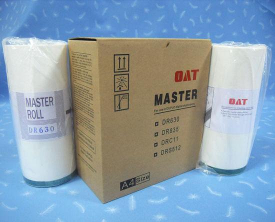 Compatible Dr630L A4 Master for Duplo Duplicator
