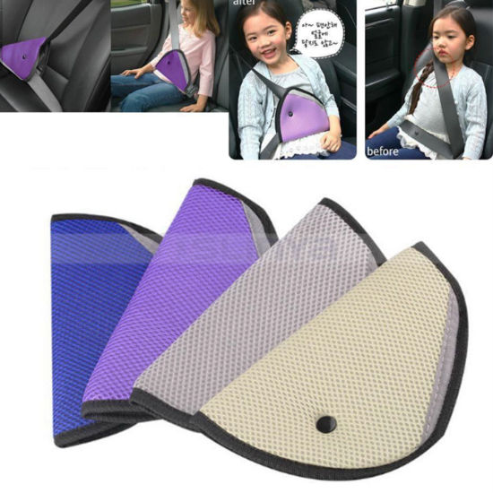 Triangle Nylon Child Kids Car Safety Belt Adjuster Toddlers Car Safety Seat Belt (1223)