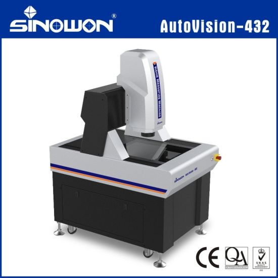 Fully-Auto 2.5D Video Measuring System for Electronics