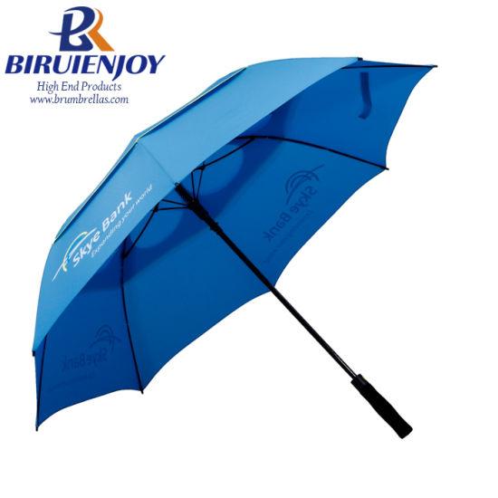 Top Quality New Design Windproof Extra Large Golf Umbrella with Custom Logo