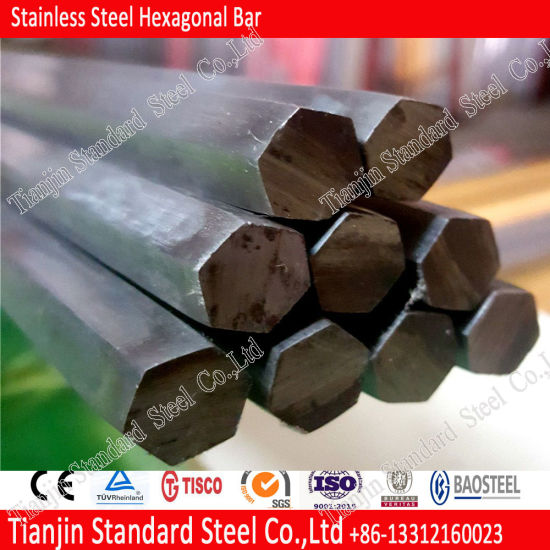 ASTM A484 / A484m 304 316 316L Stainless Steel Hexagonal Rod pictures & photos