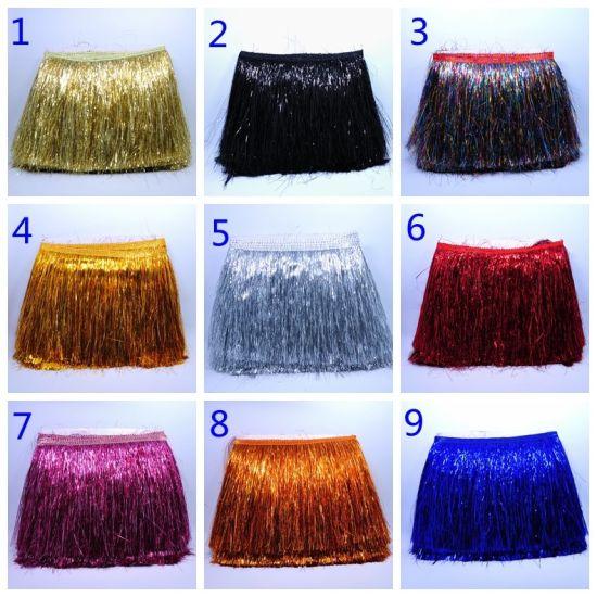 14 Colors Shiny Fringe Tassel for Clothes