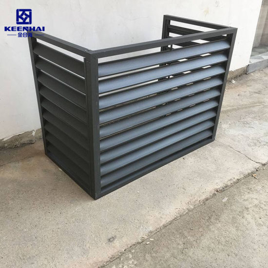 China Black Color Dust Cleaning, Outdoor Air Conditioner Covers