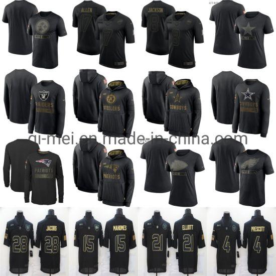 2020 Salute to Service Patriots Buccaneers Chiefs Cowboys Steeler T-Shirts Hoodies Jerseys