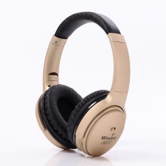 Over Ear Foldable Hi-Fi FM TF Card Stereo Headset Bluetooth Wireless Headphone Earphone with Mic