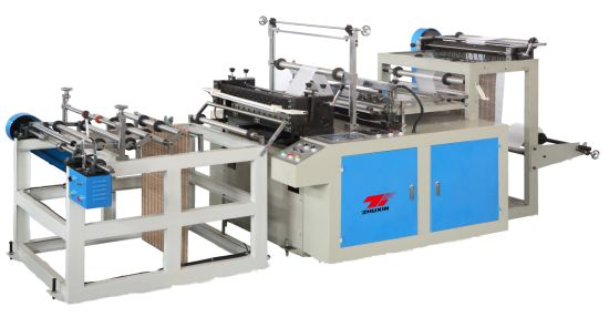 High Speed Computerized Cutting-off Continuous-Rolled Bag Making Machine