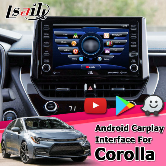 Lsailt Android GPS Navigation Box for Toyota Corolla Camry RAV4 2019 Video Interface Denso Fujitsu Ten Pioneer pictures & photos