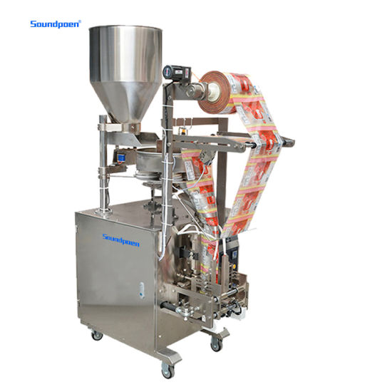 Wholesale Automatic Bag Making Herbal Food Particle Rice Grain Packing Machine