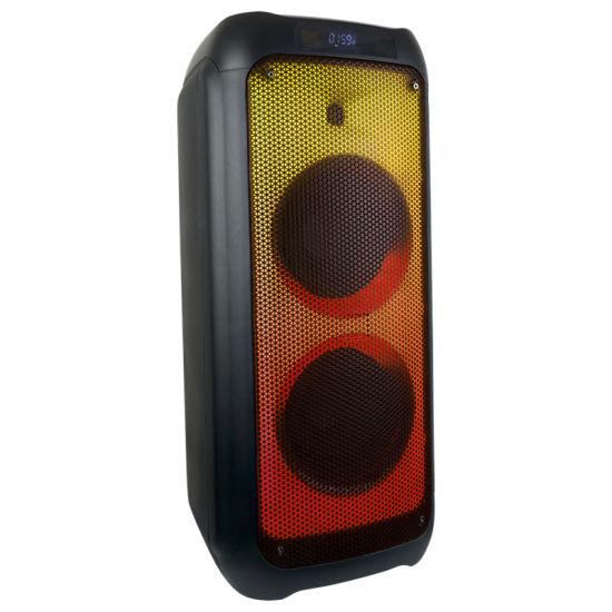 Cost Effective Party Box Customization Wholesale Dual 5.5 Inch DJ Bluetooth Wireless Audio Loud Speaker