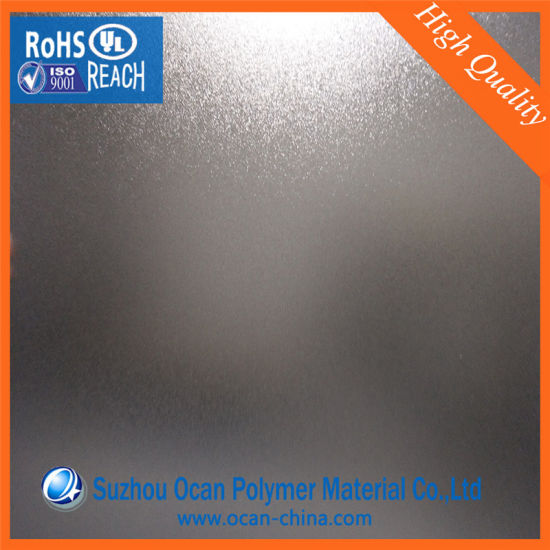 915mm*1830mm Embossed Rigid PVC Rigid Sheet for Folding Box pictures & photos