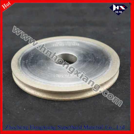 Round Edge Diamond Grinding Wheel with High Quality pictures & photos