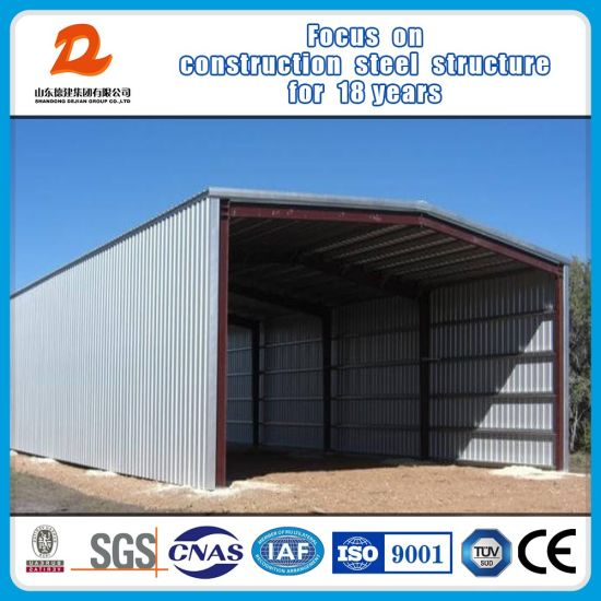 Prefab Light Metal Frame Building Prefabricated Steel Structure Warehouse
