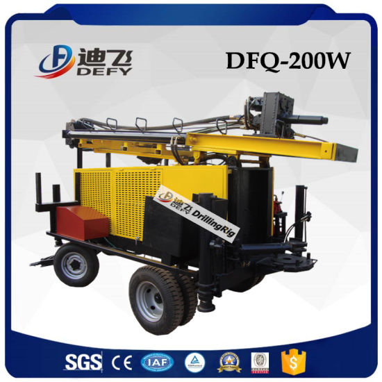 DTH Hammer Pneumatic Well Drilling Rig Machine for Hard Rock