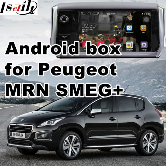 China Android GPS Navigation System Box for Peugeot 3008 Mrn