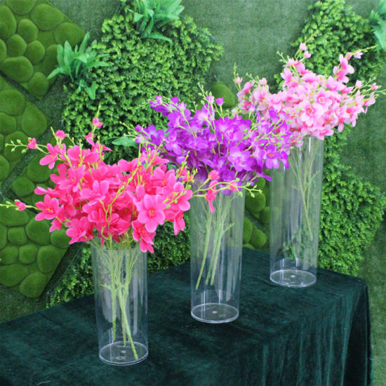 China New House Decoration Acrylic Flower Vase China Acrylic