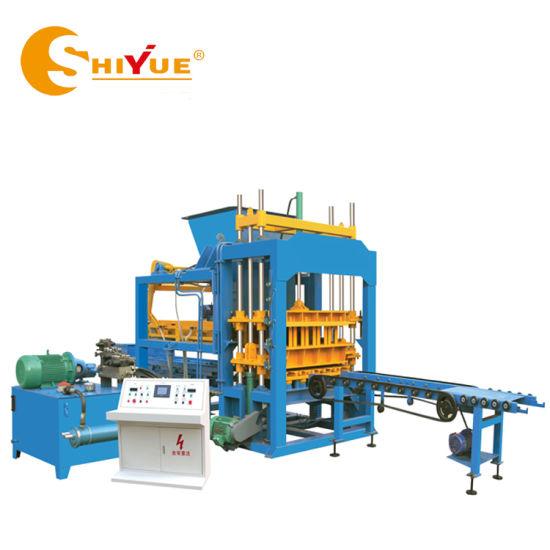 Qt5-15 Construction Machinery Automatic Hydraulic Vibration/Curbstone/Paver/Paving/Solid/Hollow Block/Brick Making Machine