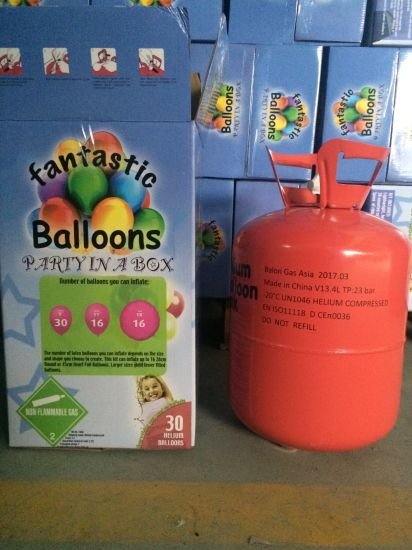 Disposable Helium Tank with Helium Gas
