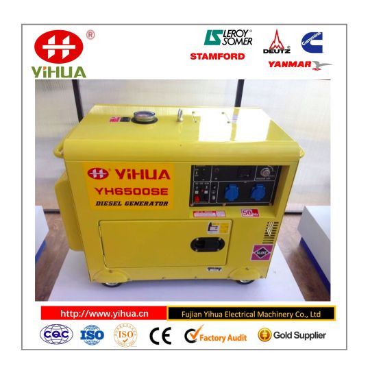 China 186 Series Engine, 5kw Air Cooled Small Home Used Portable Diesel  Generator