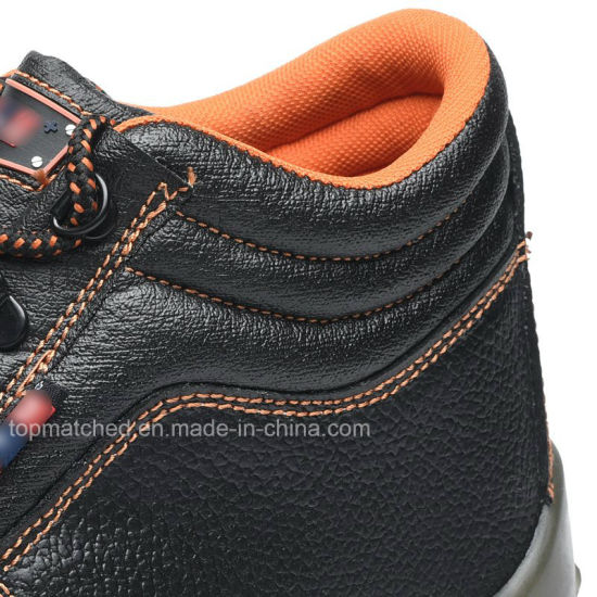 Wholesale Cheap Price Industrial Genuine Leather Safety Shoes with Steel Toe pictures & photos
