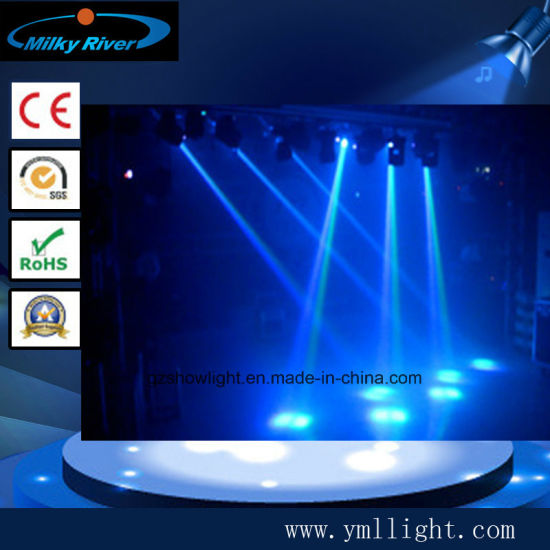 Charming Hot Disco Bar Mini Two Side LED 5X10W 4in1 RGBW Beam Wash Moving Head LED Stage  Lighting